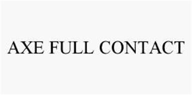 AXE FULL CONTACT
