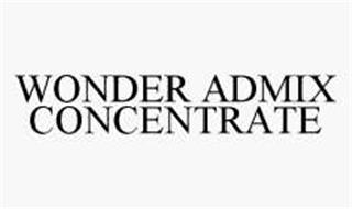 WONDER ADMIX CONCENTRATE