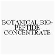BOTANICAL BIO-PEPTIDE CONCENTRATE