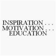 INSPIRATION . . . MOTIVATION . . . EDUCATION