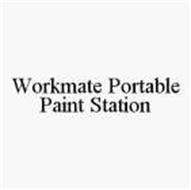 WORKMATE PORTABLE PAINT STATION
