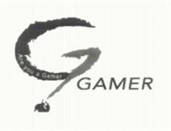 G ARE YOU A GAMER? GAMER