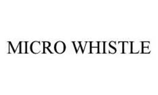 MICRO WHISTLE