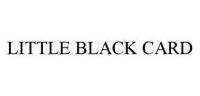 LITTLE BLACK CARD