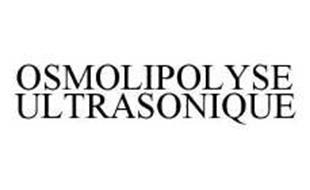 OSMOLIPOLYSE ULTRASONIQUE
