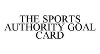 THE SPORTS AUTHORITY GOAL CARD