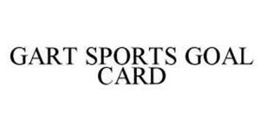 GART SPORTS GOAL CARD