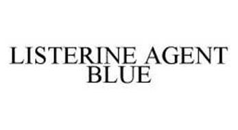 LISTERINE AGENT BLUE