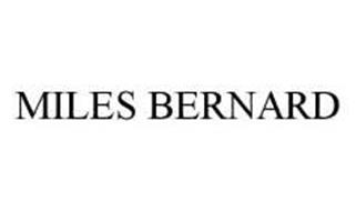 MILES BERNARD