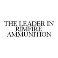 THE LEADER IN RIMFIRE AMMUNITION