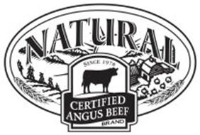 CERTIFIED ANGUS BEEF NATURAL BRAND SINCE 1978