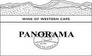 WINE OF WESTERN CAPE PANORAMA PANORAMA P SOUTH AFRICA