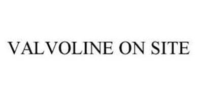 VALVOLINE ON SITE