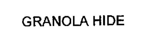 GRANOLA HIDE