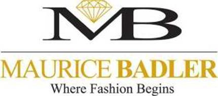 MB MAURICE BADLER WHERE FASHION BEGINS