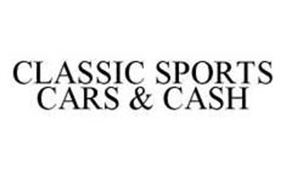 CLASSIC SPORTS CARS & CASH