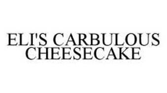 ELI'S CARBULOUS CHEESECAKE