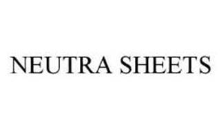 NEUTRA SHEETS