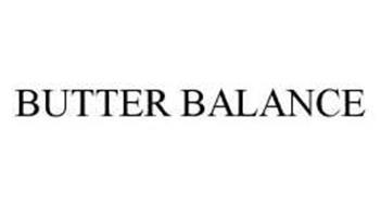 BUTTER BALANCE