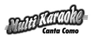 MULTI KARAOKE CANTA COMO