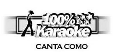 100% KARAOKE CANTA COMO