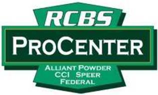RCBS PROCENTER ALLIANT POWDER CCI SPEER FEDERAL