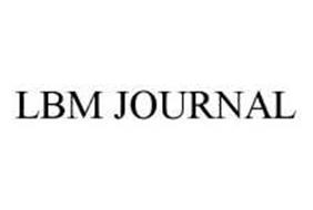 LBM JOURNAL