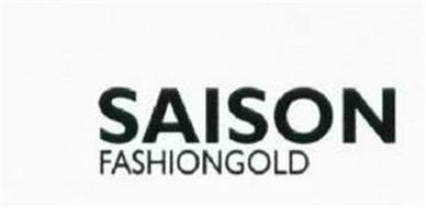 SAISON & FASHIONGOLD LOGO