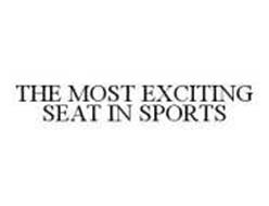 THE MOST EXCITING SEAT IN SPORTS