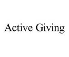 ACTIVE GIVING