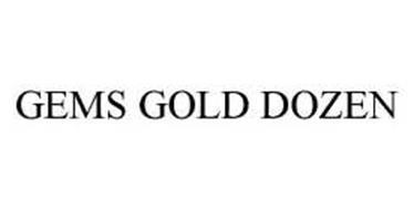 GEMS GOLD DOZEN