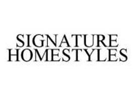 Wicker world enterprises inc trademarks 22 from for Signature homestyles