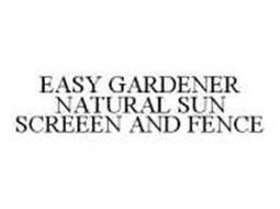 EASY GARDENER NATURAL SUN SCREEEN AND FENCE