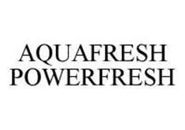 AQUAFRESH POWERFRESH