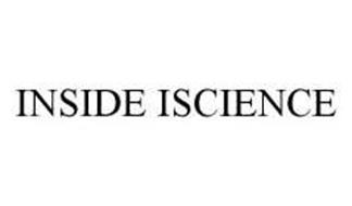 INSIDE ISCIENCE