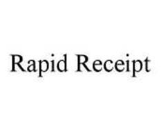 RAPID RECEIPT