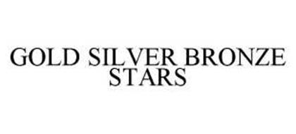 GOLD SILVER BRONZE STARS
