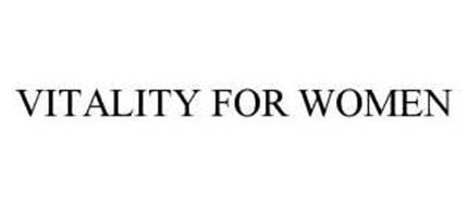 VITALITY FOR WOMEN