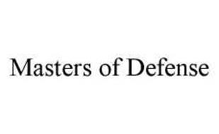 MASTERS OF DEFENSE