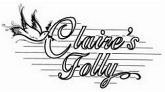 CLAIRE'S FOLLY