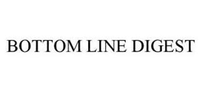 BOTTOM LINE DIGEST