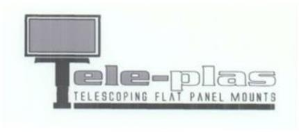 TELE-PLAS TELESCOPING FLAT PANEL MOUNTS