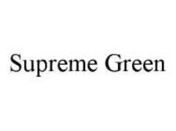 SUPREME GREEN