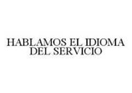 HABLAMOS EL IDIOMA DEL SERVICIO