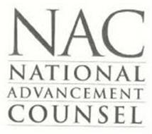 NAC NATIONAL ADVANCEMENT COUNSEL