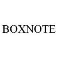 BOXNOTE