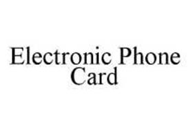 ELECTRONIC PHONE CARD