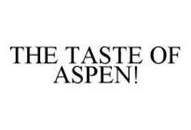 THE TASTE OF ASPEN!
