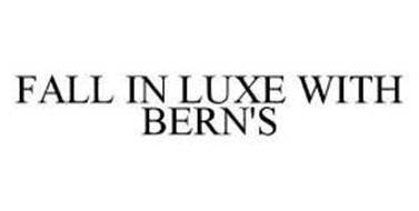 FALL IN LUXE WITH BERN'S