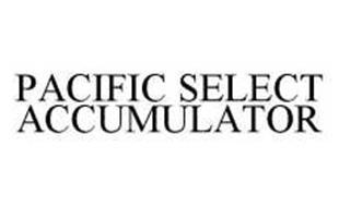 PACIFIC SELECT ACCUMULATOR